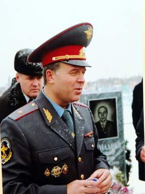 Николай Брыкин в милиции